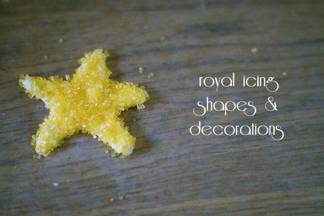 Royal Icing Shapes & Decorations