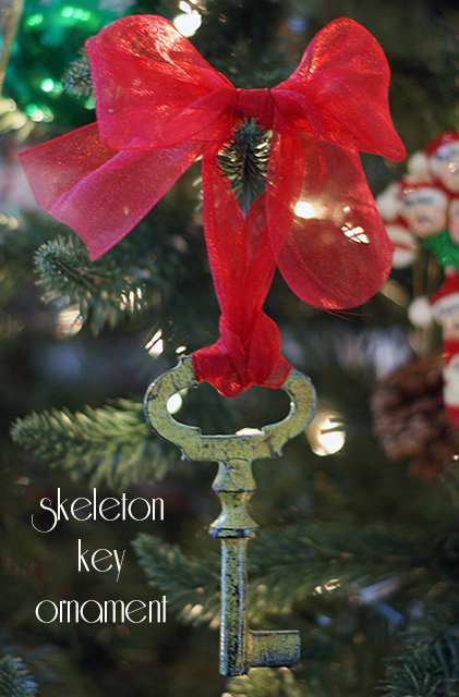 Skeleton Key Ornament