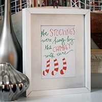 The Stockings Were Hung Artwork