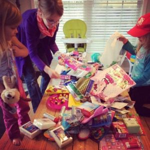 On making Christmas about giving and your #wishforothers