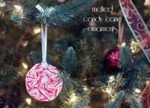 Candy cane ornaments {101 Days of Christmas}