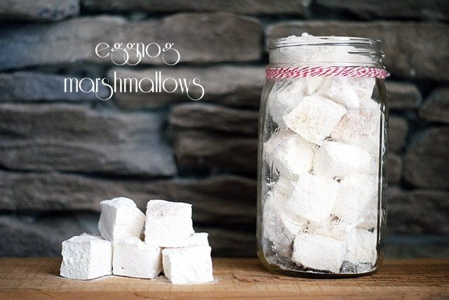 Eggnog marshmallows {101 Days of Christmas}