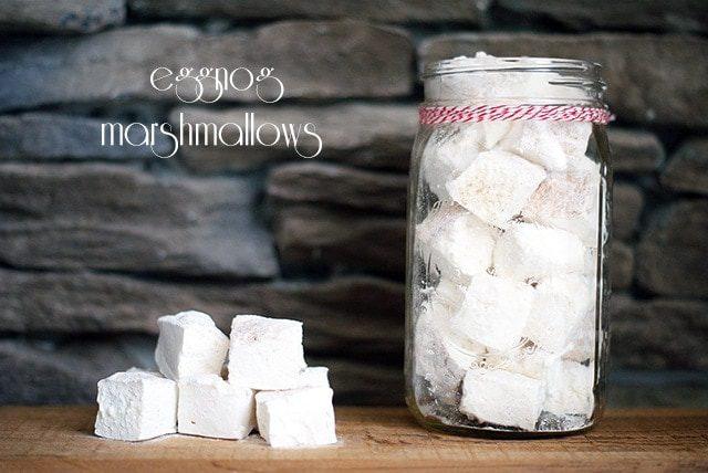 Eggnog marshmallows {101 Days of Christmas}