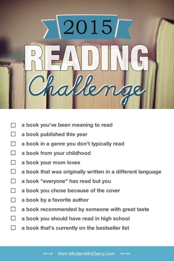 Modern Mrs. Darcy's 2015 Reading Challenge