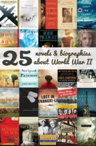 25 novels and biographies about World War II