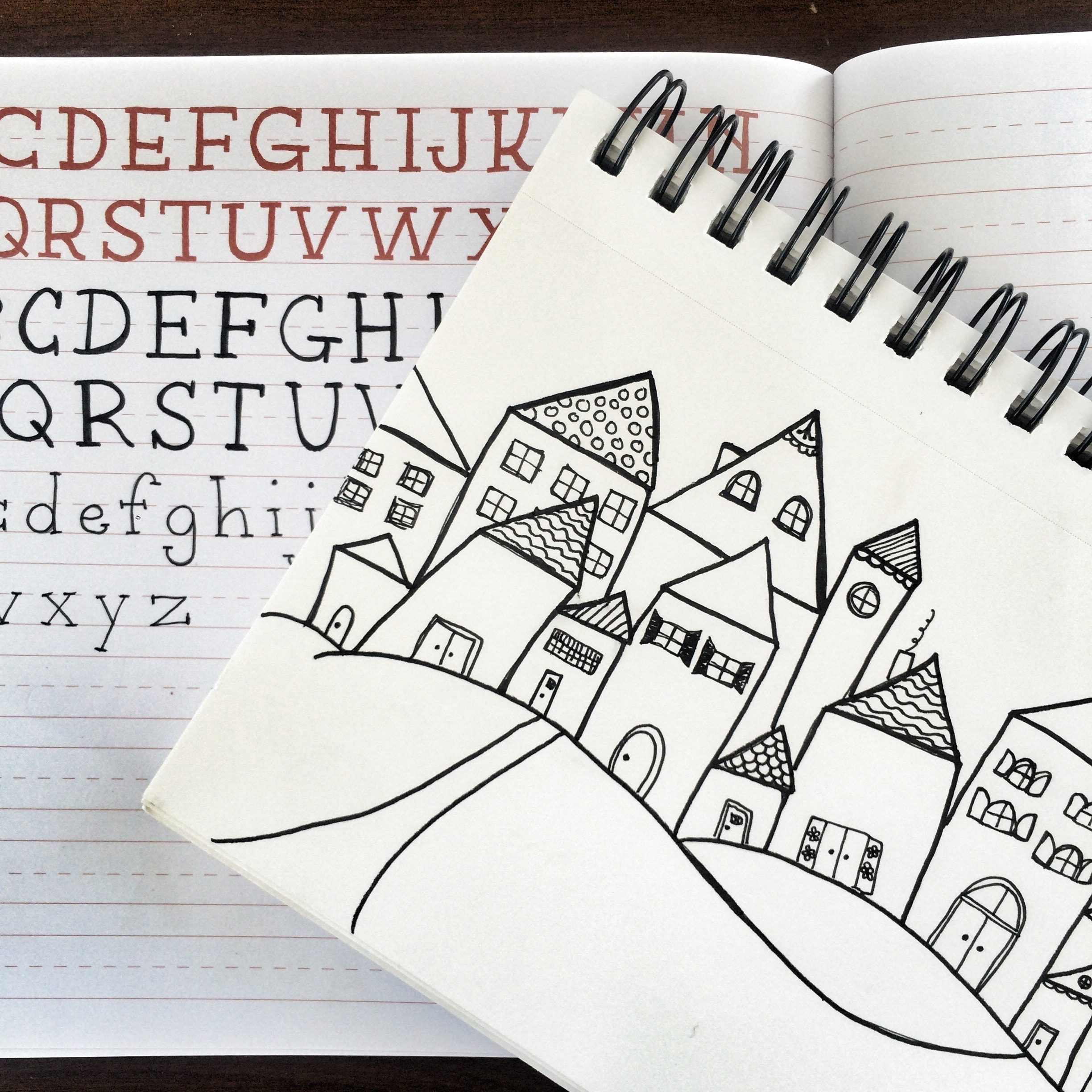 Resources for doodling and hand lettering