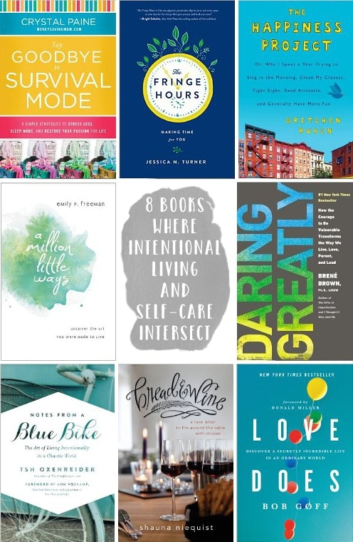 8 Books Where Intentional Living and Self-Care Intersect