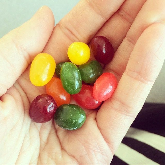 Jelly beans for morning sickness