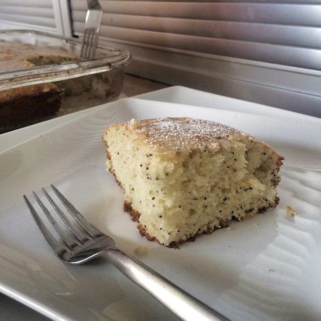 Clementine Poppy Seed Breakfast Cake