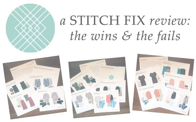 A Stitch Fix review—the wins and the fails after four fixes