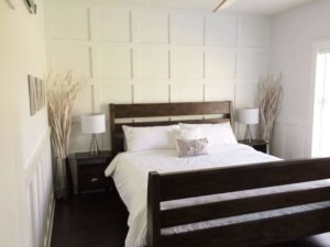 Read more about the article An updated master bedroom {modular home house tour}