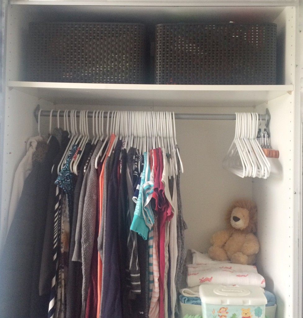 KonMari'ing the baby clothes