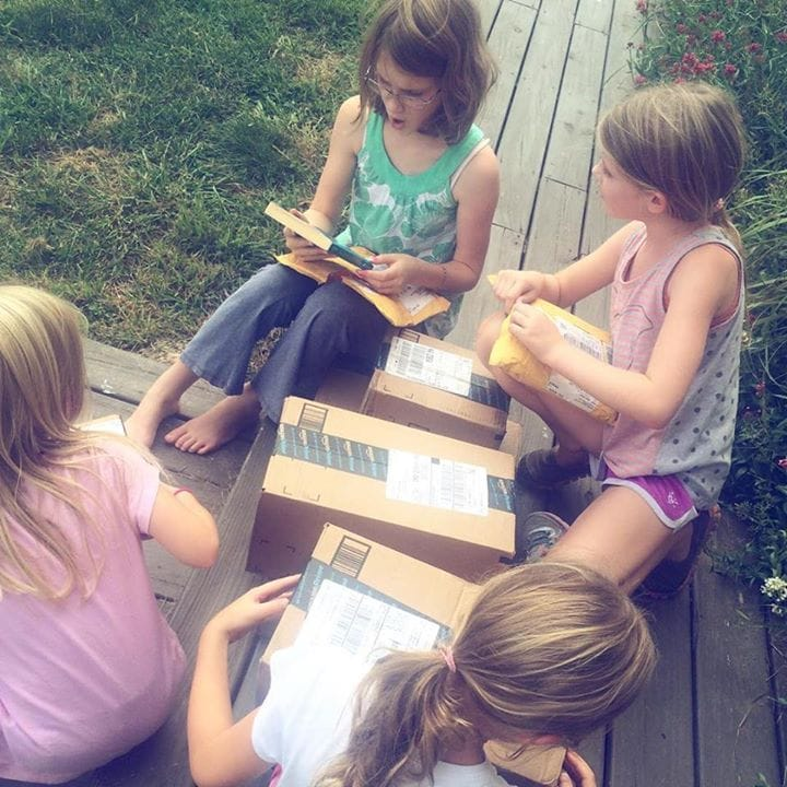 Homeschool language arts options {and what we're doing...for now}