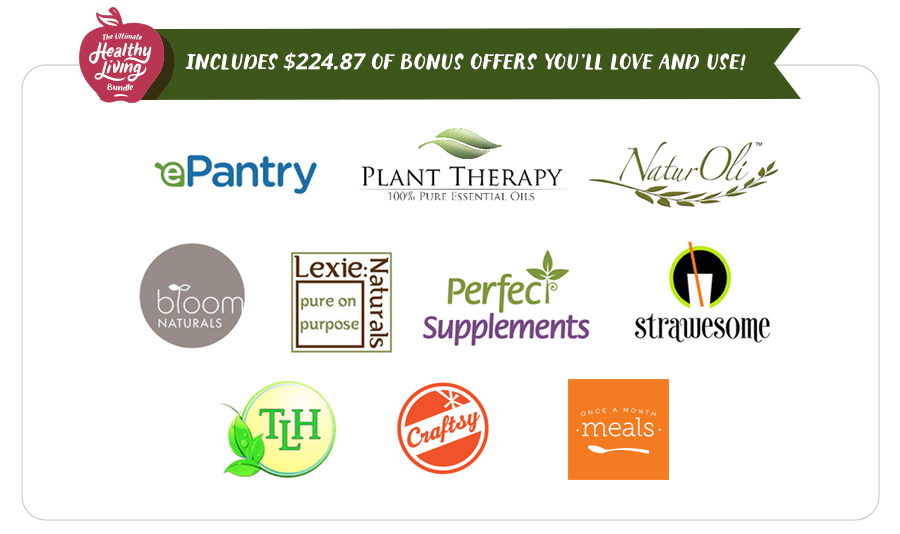The Ultimate Healthy Living Bundle 2015 BONUSES