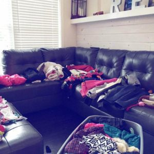 Rotating seasonal wardrobes with older kids