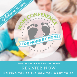 Are you attending this year's online Mom Conference?
