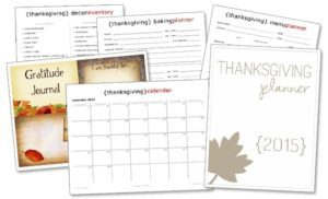 Have you printed your 2015 Thanksgiving planner?