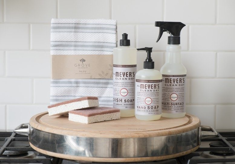 Kids & Chores {and a FREE Mrs. Meyers cleaning kit from ePantry!}
