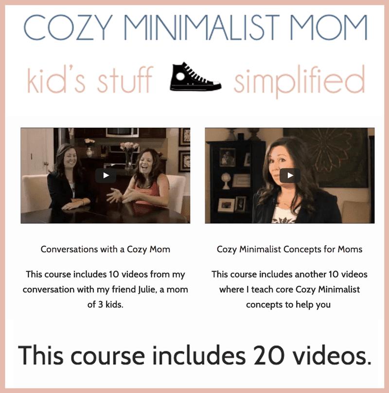 Cozy Minimalist Mom