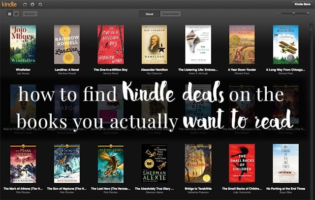 How to find deals on the Kindle books you actually want to read
