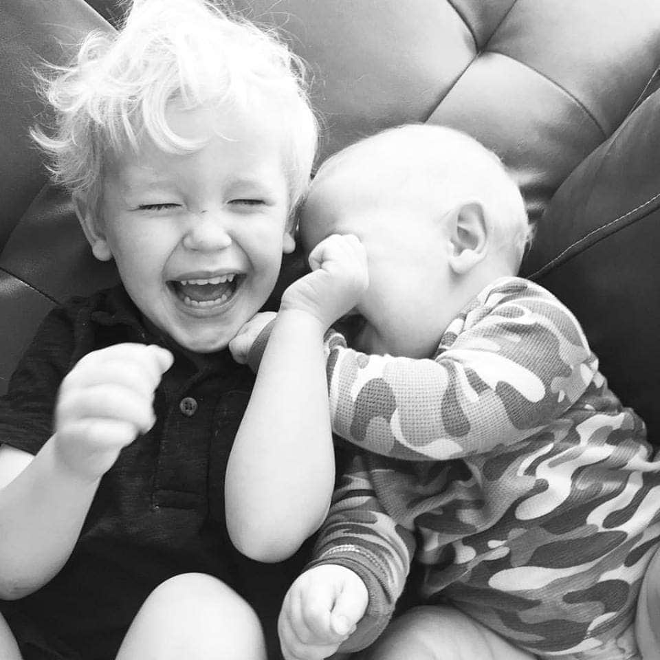Sweet brothers.