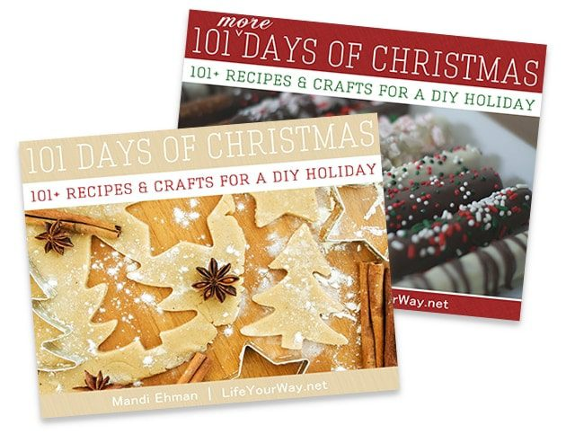 Get my 101 Days of Christmas eBook FREE!