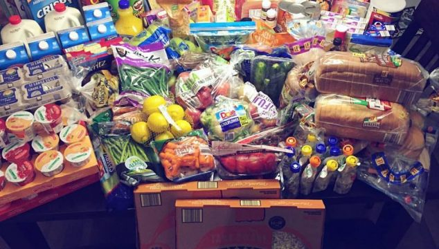 How Aldi is saving my grocery budget {$294.76 for 2 weeks of food for 8 people}