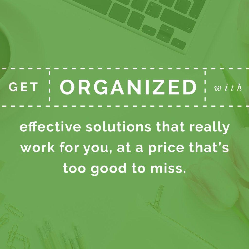 Get organized in 2017