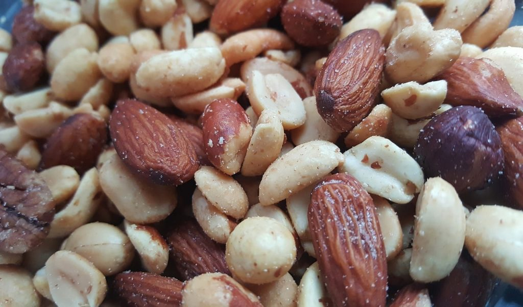 nuts and almonds