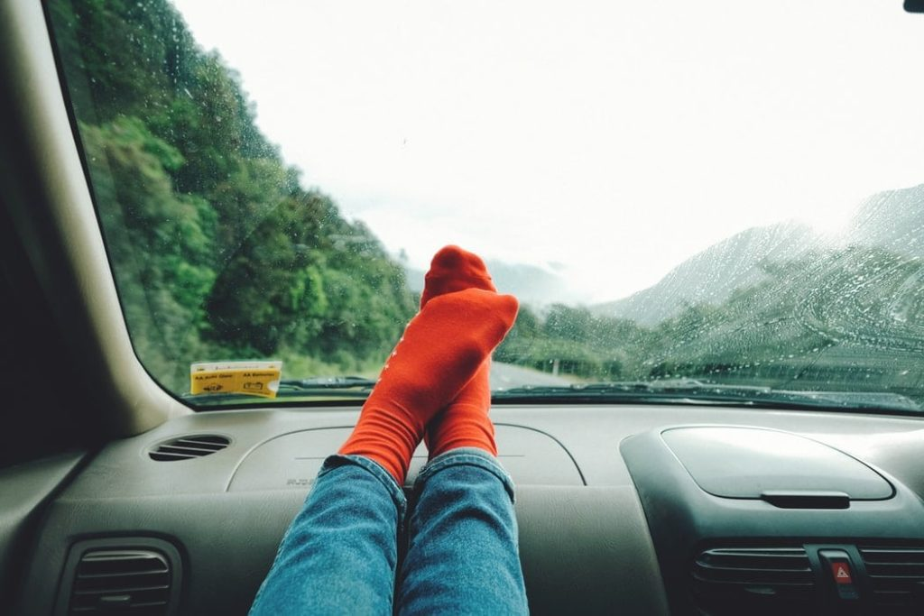 road trip moment