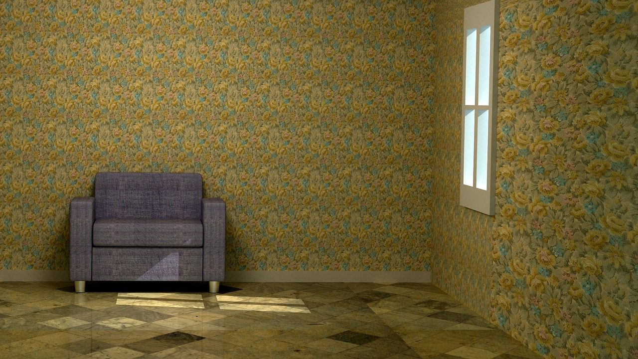 Clever ideas to decorate your home with wallpaper