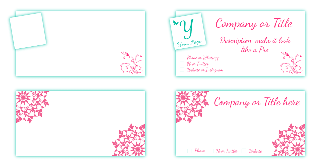 Innovative Business Card Designs for the Mompreneur