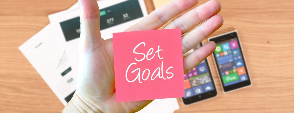 Set monthly goals