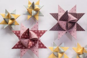 Origami art of paper folding