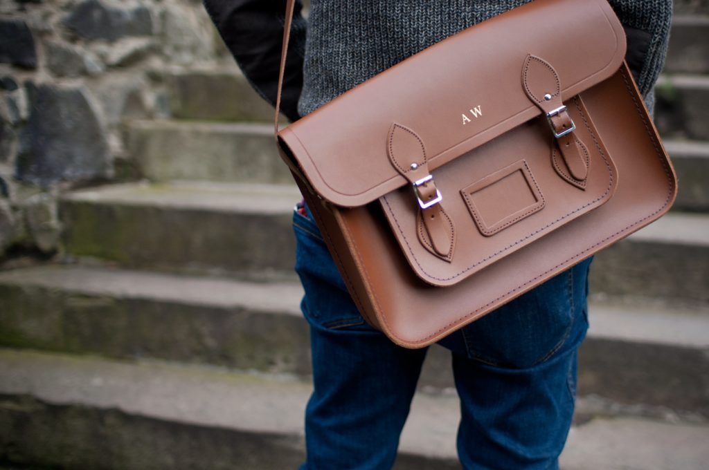 Initialed bag