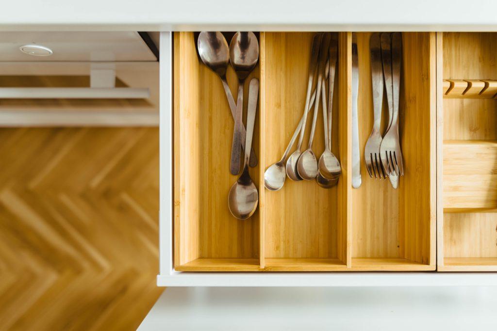 Silverware drawer