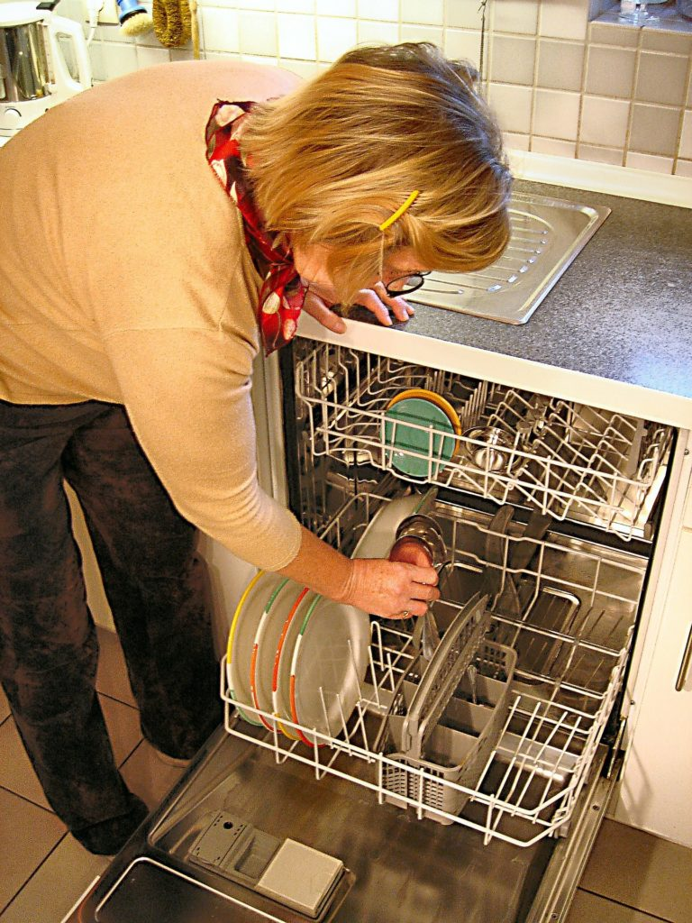 Leaking dishwasher
