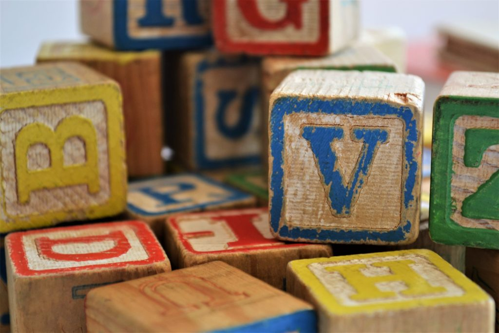 Blocks help with learning and development