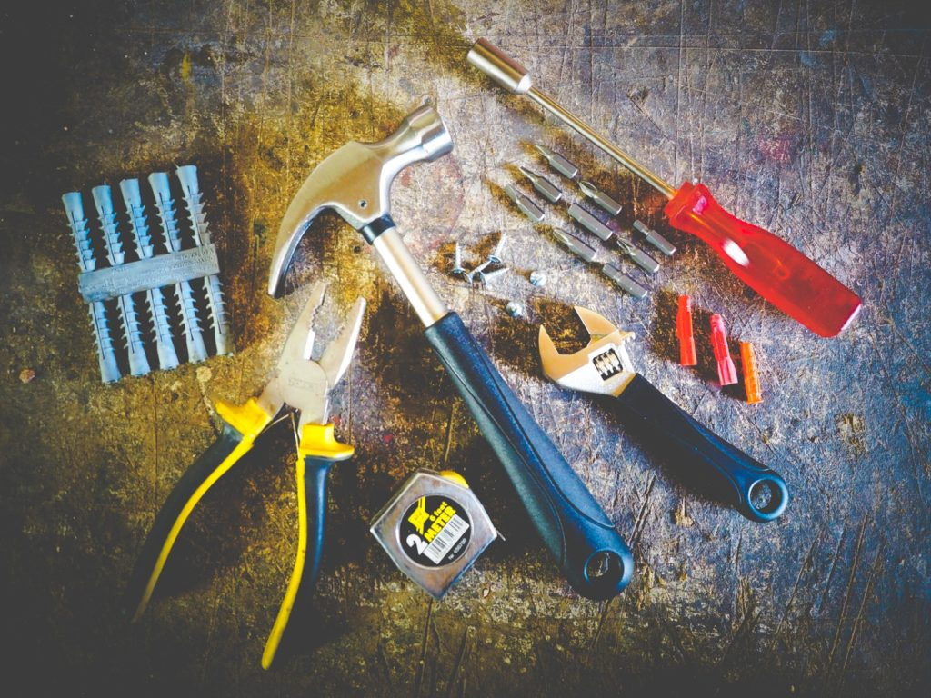 Tools for home repairs
