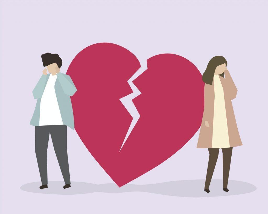 Declutter toxic relationship