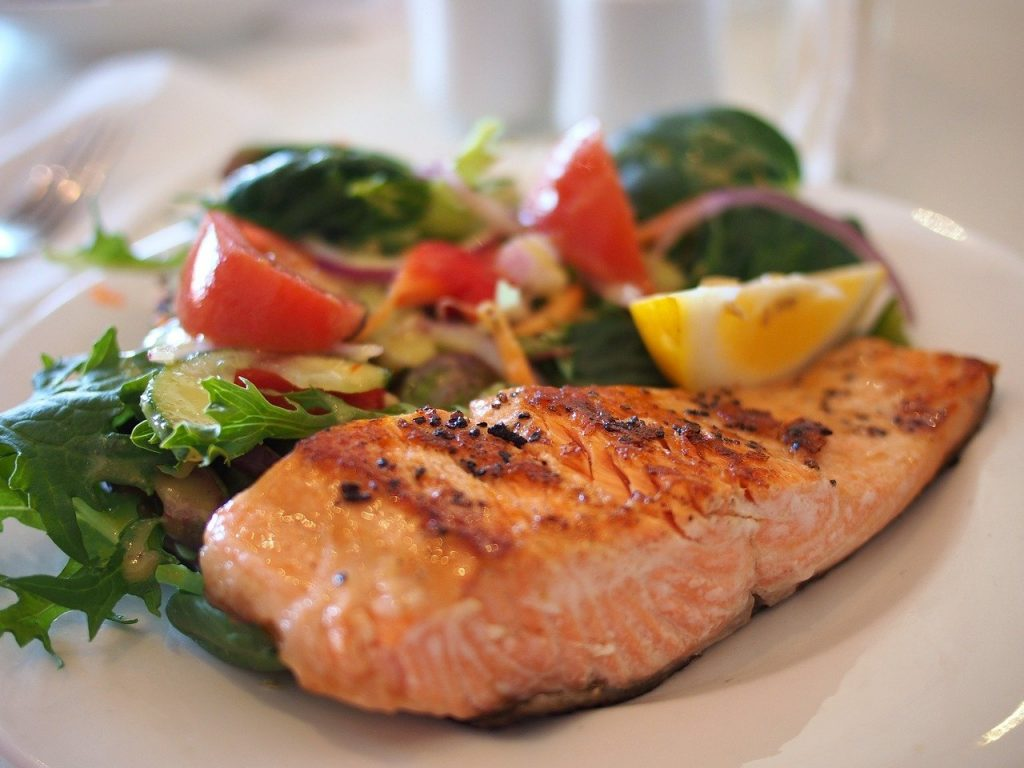 Salmon good source for Vitamin D