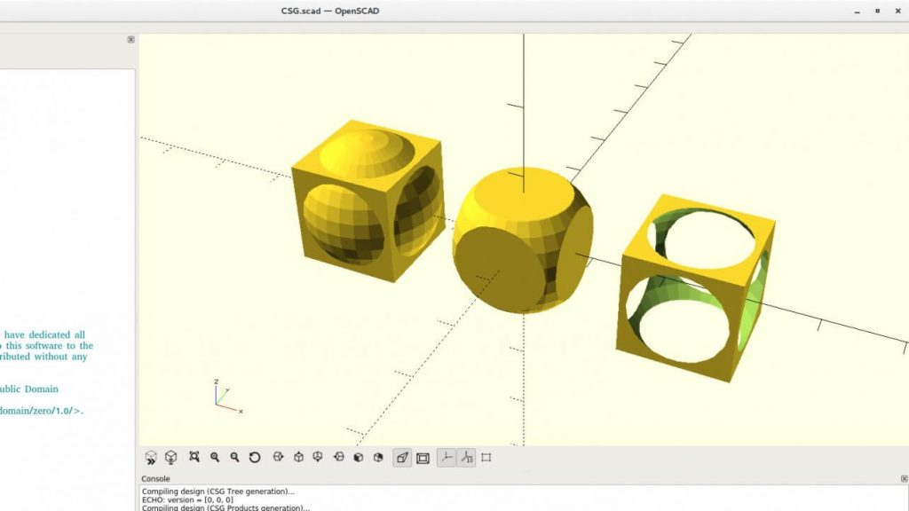 OpenSCAD-software