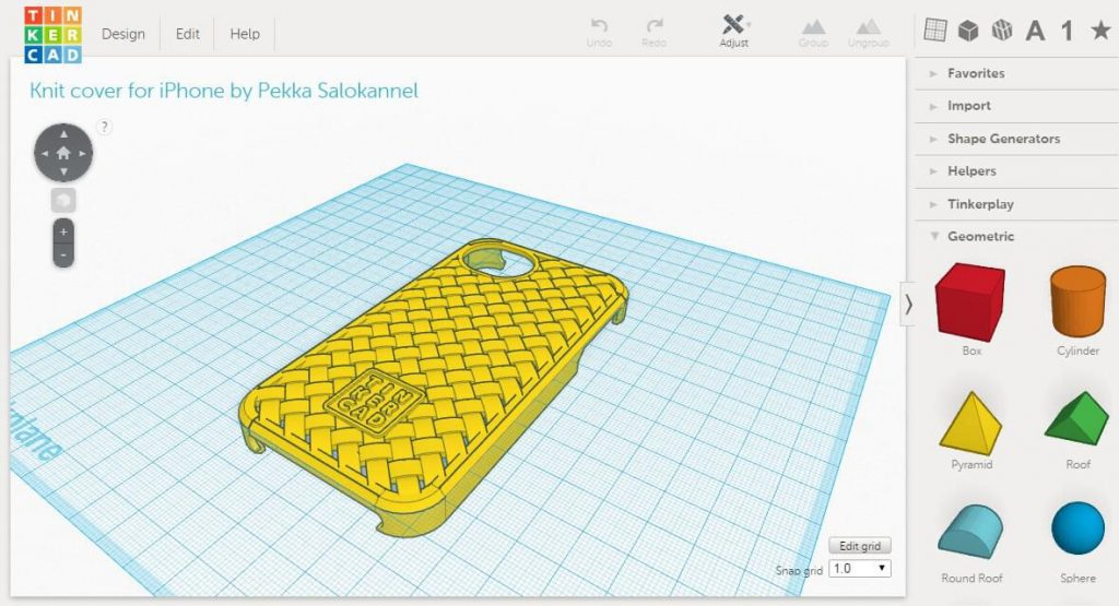 Tinkercad-3d-modeling-software