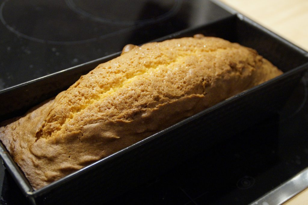Bread-baking pan