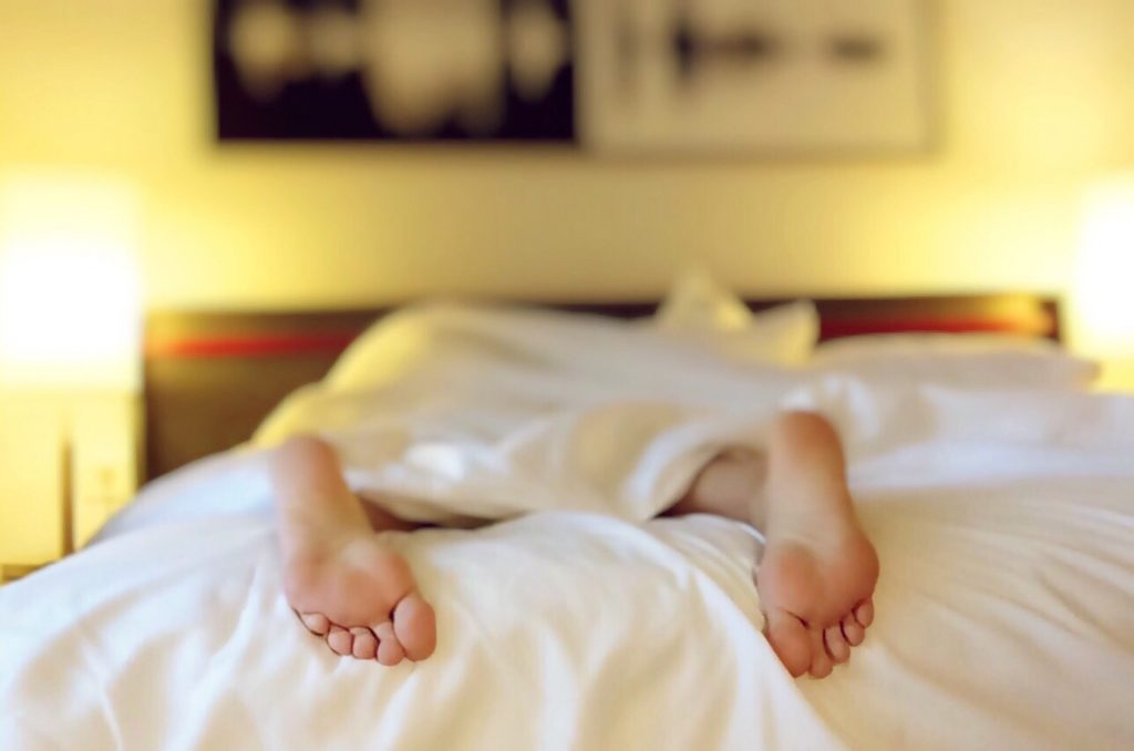 Lack of high-quality sleep