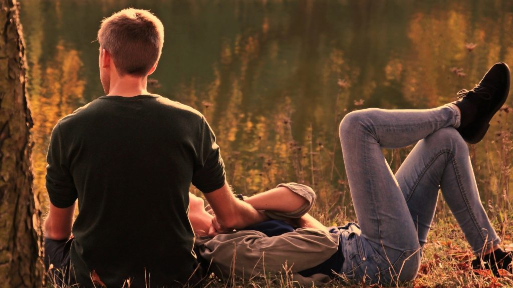 Take time to relax together