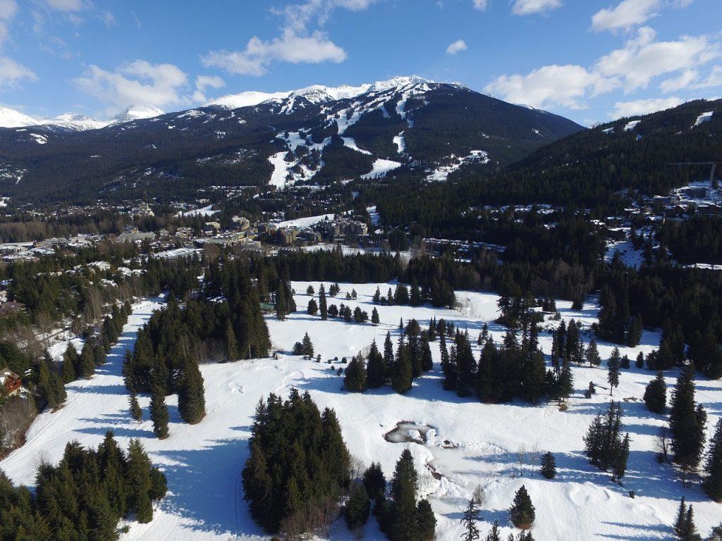 Whistler Blackcomb skiing country