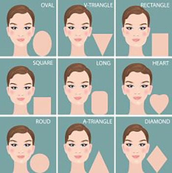 9 Face shapes