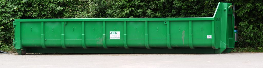 Green long container
