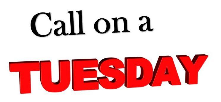 Call on Tuesday